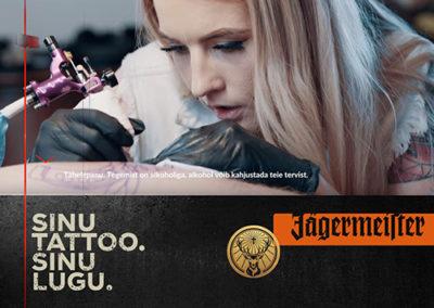 Sinu tattoo. Sinu lugu.